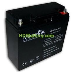 Batería para UPS-SAI 12v 18Ah plomo agm